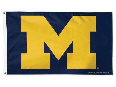 Michigan Wolverines 3x5 Deluxe Flag