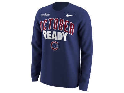 Chicago Cubs MLB Men's October Ready Long Sleeve T-Shirt