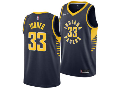 Indiana Pacers Myles Turner Nike NBA Men's Icon Swingman Jersey