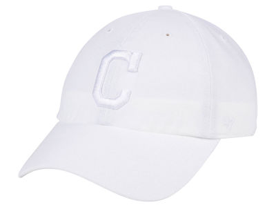 Cleveland Indians '47 MLB White/White '47 CLEAN UP Cap