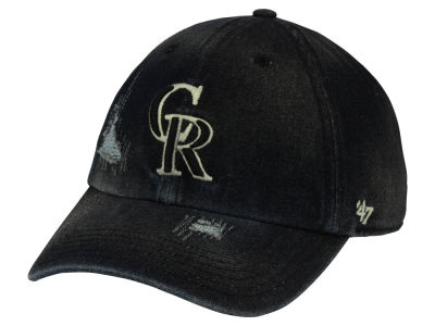 Colorado Rockies '47 MLB Dark Horse '47 CLEAN UP Cap