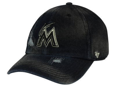 Miami Marlins '47 MLB Dark Horse '47 CLEAN UP Cap