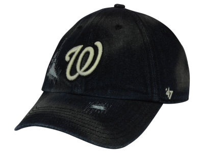 Washington Nationals '47 MLB Dark Horse '47 CLEAN UP Cap