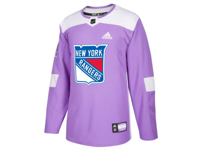 New York Rangers adidas NHL Men's Authentic Hockey Fights Cancer Jersey