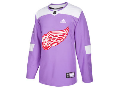 Detroit Red Wings adidas NHL Men's Authentic Hockey Fights Cancer Jersey