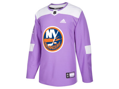 New York Islanders adidas NHL Men's Authentic Hockey Fights Cancer Jersey
