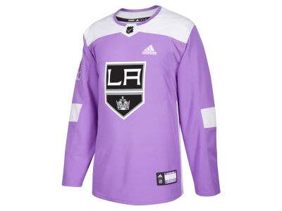 Los Angeles Kings adidas NHL Men's Authentic Hockey Fights Cancer Jersey
