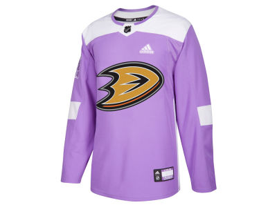 Anaheim Ducks adidas NHL Men's Authentic Hockey Fights Cancer Jersey