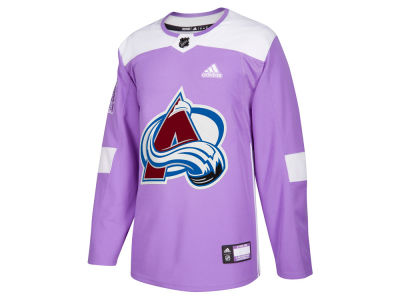 Colorado Avalanche adidas NHL Men's Authentic Hockey Fights Cancer Jersey