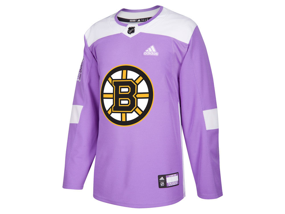 Boston Bruins adidas NHL Men s Authentic Hockey Fights Cancer Jersey ... ea2592c66