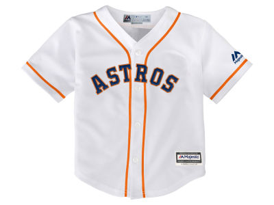 Houston Astros Majestic MLB Kids Blank Replica Cool Base Jersey