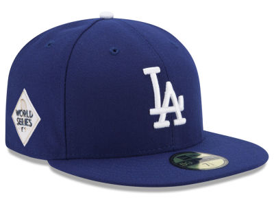 Los Angeles Dodgers New Era 2017 MLB Youth World Series Patch 59FIFTY Cap
