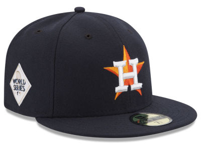 Houston Astros New Era 2017 MLB World Series Patch Authentic 59FIFTY Cap