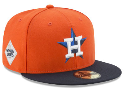 Houston Astros New Era 2017 MLB World Series Patch Authentic Collection 59FIFTY Cap