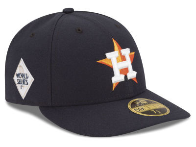 Houston Astros New Era 2017 MLB World Series Patch Low Profile 59FIFTY Cap