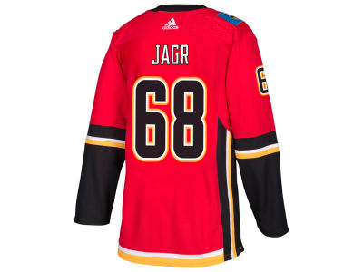 Calgary Flames Jaromir Jagr adidas NHL Authentic Player Jersey