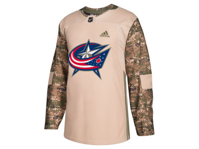 Columbus Blue Jackets adidas NHL Men's Authentic Camo Jersey