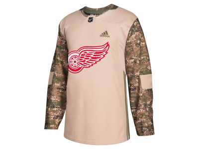 Detroit Red Wings adidas NHL Men's Authentic Camo Jersey
