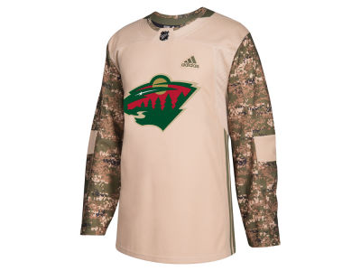 Minnesota Wild adidas NHL Men's Authentic Camo Jersey