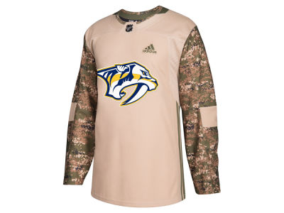 Nashville Predators adidas NHL Men's Authentic Camo Jersey