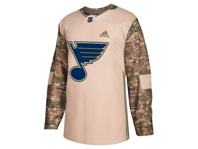 St. Louis Blues adidas NHL Men's Authentic Camo Jersey