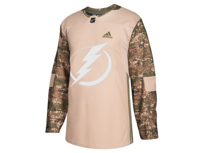 Tampa Bay Lightning adidas NHL Men's Authentic Camo Jersey