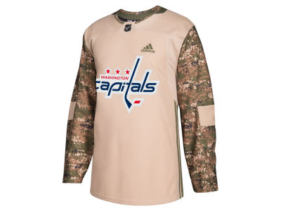 Washington Capitals adidas NHL Men's Authentic Camo Jersey