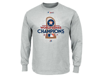Houston Astros Majestic 2017 MLB Men's World Series Champ Locker Room Long Sleeve T-Shirt