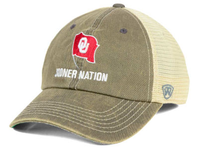 Oklahoma Sooners Top of the World NCAA Sooner Nation Cap