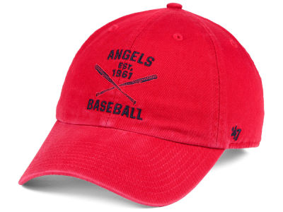 Los Angeles Angels '47 MLB Axis '47 CLEAN UP Cap