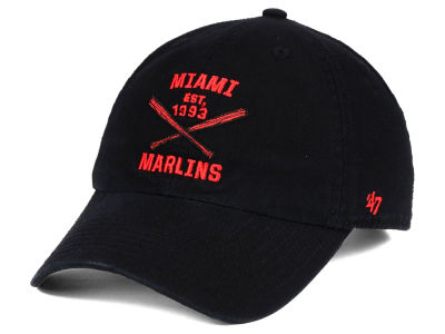 Miami Marlins '47 MLB Axis '47 CLEAN UP Cap
