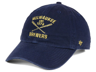 Milwaukee Brewers '47 MLB Axis '47 CLEAN UP Cap