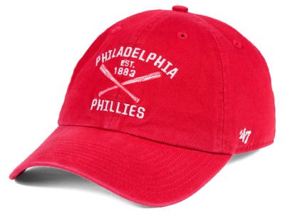Philadelphia Phillies '47 MLB Axis '47 CLEAN UP Cap