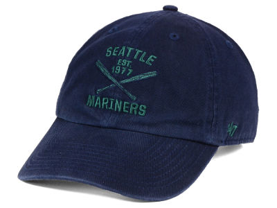 Seattle Mariners '47 MLB Axis '47 CLEAN UP Cap