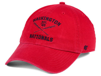 Washington Nationals '47 MLB Axis '47 CLEAN UP Cap