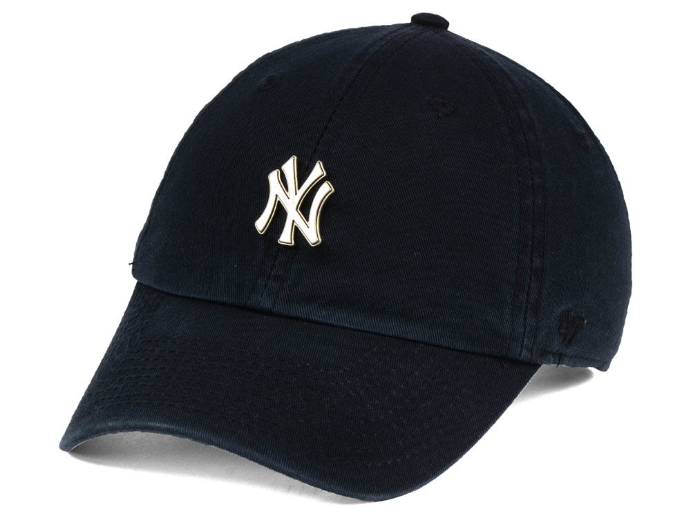 New York Yankees  47 MLB Hardware  47 CLEAN UP Cap  b45da38f7bad