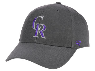 Colorado Rockies '47 MLB Charcoal '47 MVP Cap