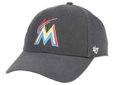 Miami Marlins '47 MLB Charcoal '47 MVP Cap