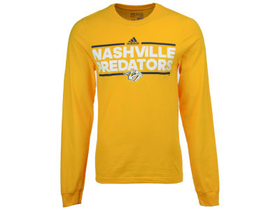Nashville Predators adidas NHL Men's Dassler Long Sleeve T-Shirt