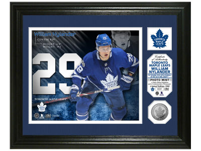 Toronto Maple Leafs William Nylander Photo Mint Coin-Bronze