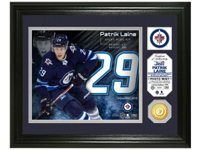Winnipeg Jets Patrik Laine Highland Mint Photo Mint Coin-Bronze