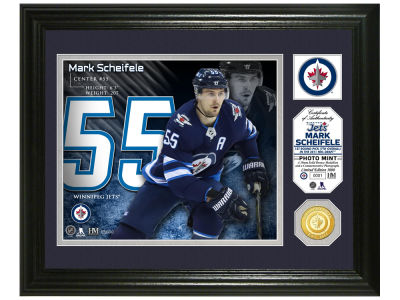 Winnipeg Jets Mark Scheifele Highland Mint Photo Mint Coin-Bronze