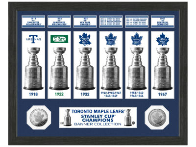 Toronto Maple Leafs Banner Photo Mint Coin - Bronze