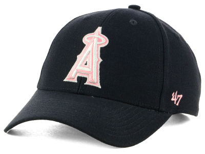 Los Angeles Angels '47 MLB Navy Pink MVP Cap