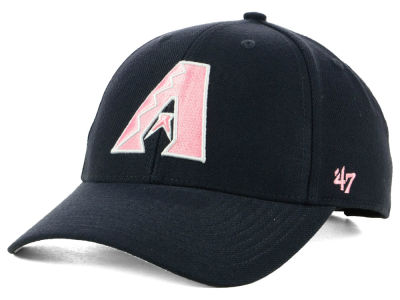 Arizona Diamondbacks '47 MLB Navy Pink MVP Cap