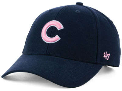 Chicago Cubs '47 MLB Navy Pink MVP Cap