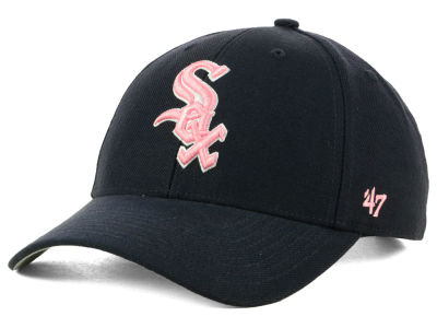 Chicago White Sox '47 MLB Navy Pink MVP Cap