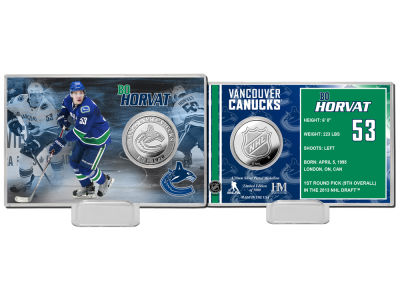 Vancouver Canucks Bo Horvat Coin Card - Player
