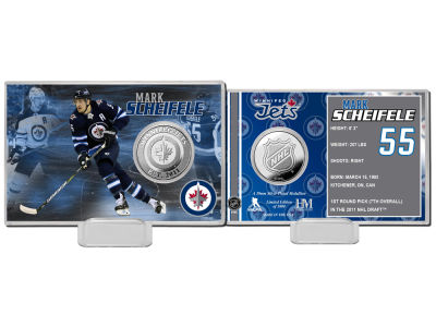 Winnipeg Jets Mark Scheifele Highland Mint Coin Card - Player