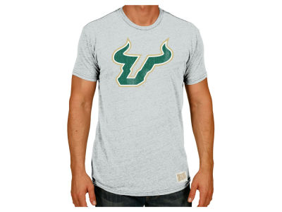 South Florida Bulls Retro Brand NCAA Men's Retro Logo Tri-blend T-Shirt